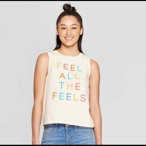 Fifth Sun Graphic Tank Top